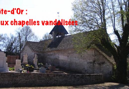Côte d'Or : deux chapelles vandalisées