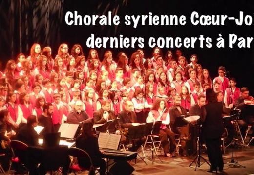 La chorale syrienne Cœur-Joie de retour à Paris !