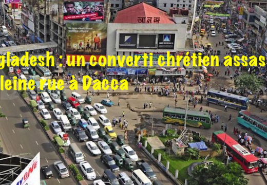 Bangladesh : converti chrétien assassiné à Dacca