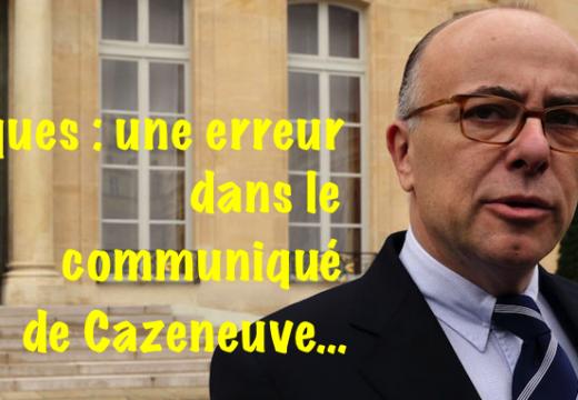 Cazeneuve : une erreur dans son communiqué de vœux aux Français pour Pâques