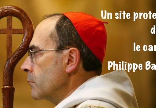 Cardinal Barbarin : soutien d'un site protestant