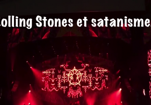Les Rolling Stones invoquent le Diable au début de leurs concerts