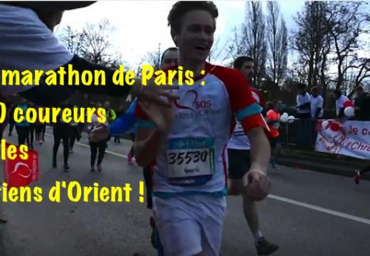Paris : 1 300 coureurs pour les chrétiens d'Orient !