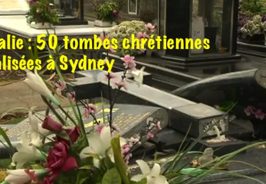 Australie : 50 tombes orthodoxes vandalisées par un musulman à Sydney