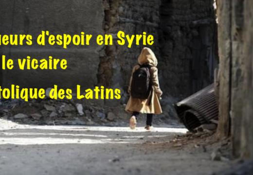 Vicaire apostolique d'Alep : le conflit est en train de s'atténuer