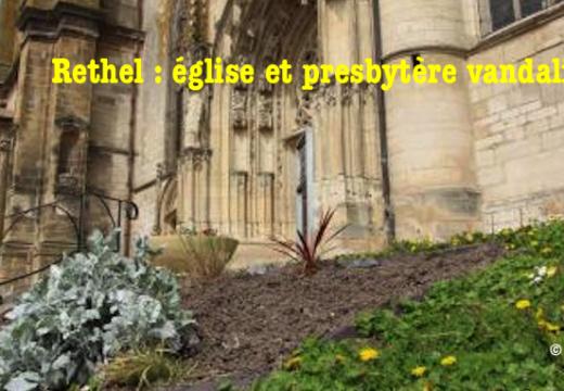 Ardennes : église et presbytère vandalisés à Rethel