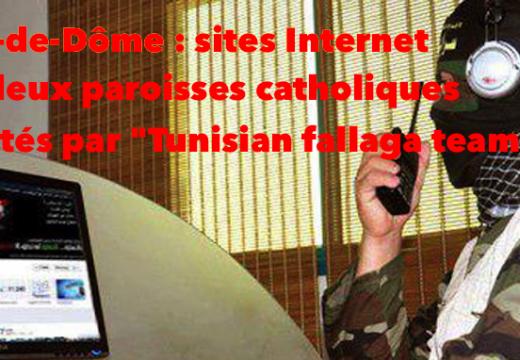 Puy-de-Dôme : les sites de deux paroisses catholiques piratés par des islamistes…