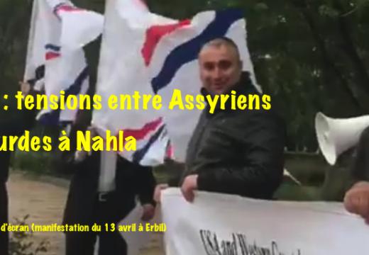 Irak : vives tensions entre Assyriens et Kurdes à Nahla