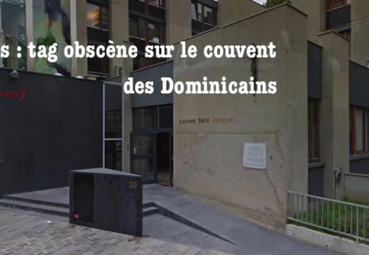 Paris : tag obscène sur un couvent parisien