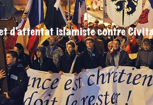 Les terroristes islamistes de Paris et de Bruxelles voulaient frapper Civitas !