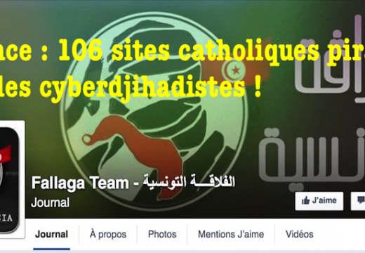 """Tunisian Fallaga Team"" : 106 sites catholiques piratés !"