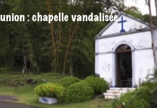 La Réunion : les statues d'une chapelle vandalisées