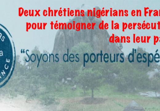 Deux orateurs chrétiens nigérians en France