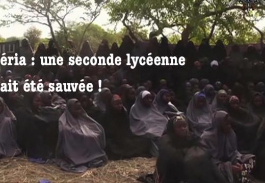 Nigéria : une seconde lycéenne aurait été sauvée