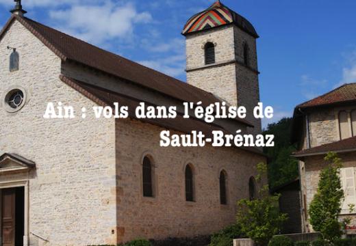 Ain : vols dans une église de Sault-Brénaz