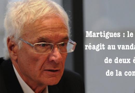 Martigues : le maire réagit au vandalisme dans les églises