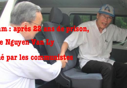 Vietnam : après 22 ans de prison, un prêtre catholique relâché
