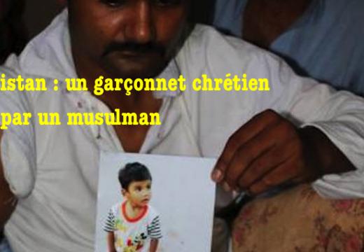 Pakistan : un garçonnet chrétien de 2 ans tué par un musulman