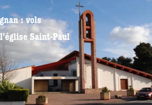 Pyrénées-Orientales : vols dans une église de Perpignan
