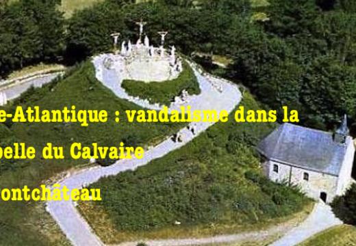 Loire-Atlantique : la chapelle du Calvaire de Pontchâteau vandalisée