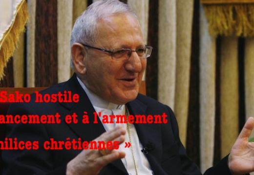 Irak : le patriarche Sako opposé à tout armement des « milices chrétiennes »