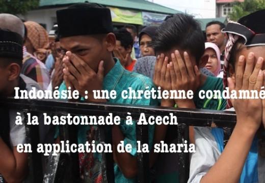 Indonésie : une chrétienne bastonnée en application de la sharia
