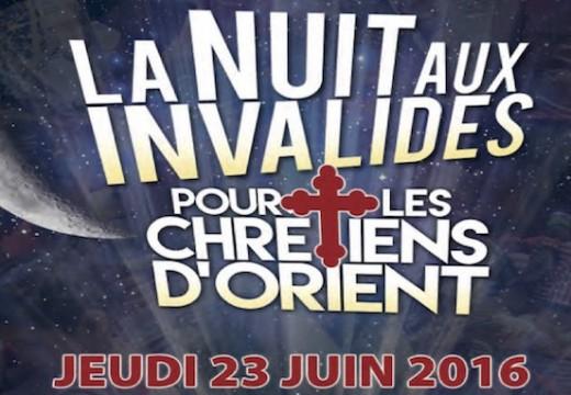 Paris : la Nuit aux Invalides pour les chrétiens d'Orient