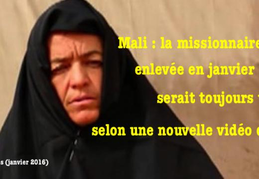 Mali : la missionnaire suisse enlevée en janvier serait toujours vivante