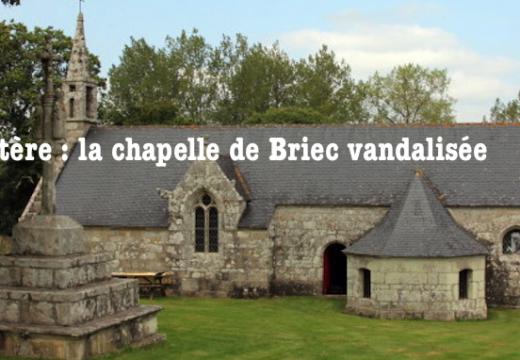 Finistère : une chapelle vandalisée à Briec