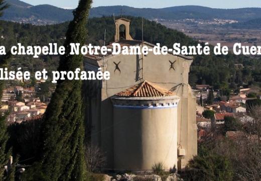 Var : chapelle vandalisée et profanée à Cuers