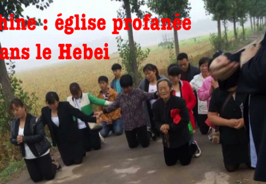 Chine : église profanée dans le Hebei, la police interdit toute réparation publique