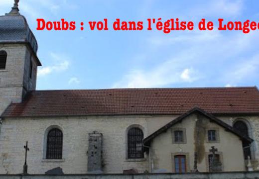 Doubs : vol de tableaux dans l'église de Longechaux