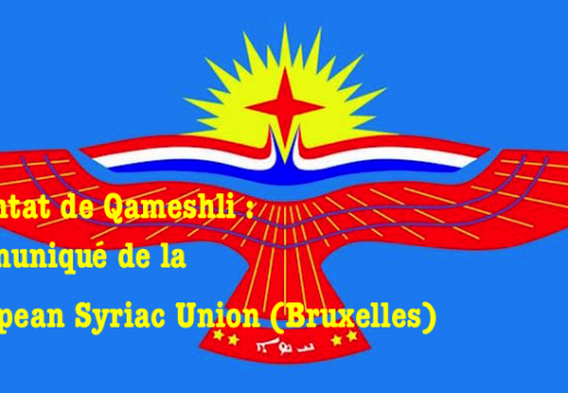 Attentat de Qameshli : communiqué de la European Syriac Union