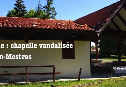 Gironde : une chapelle vandalisée à Gujan-Mestras