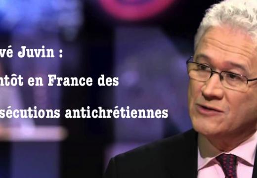 Hervé Juvin : bientôt en France des persécutions antichrétiennes
