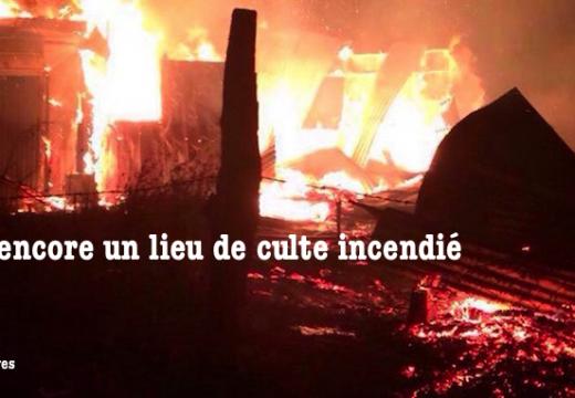 Chili : encore un lieu de culte incendié par des extrémistes