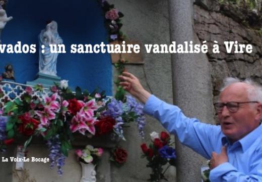 Calvados : un sanctuaire vandalisé à Vire
