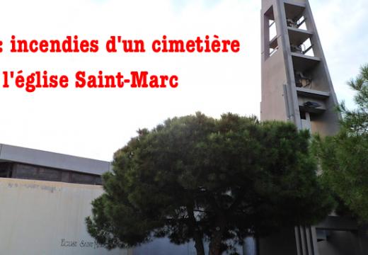 Nice : incendies criminels dans un cimetière et d'une église