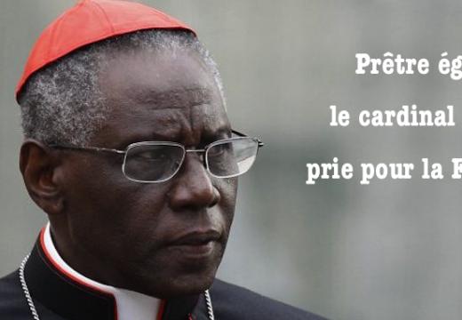 Prêtre égorgé : le cardinal Sarah prie pour la France