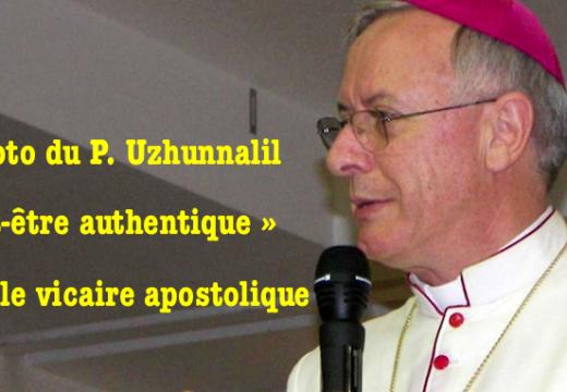 Vicaire apostolique : la photo du P. Uzhunnalil « peut être authentique »