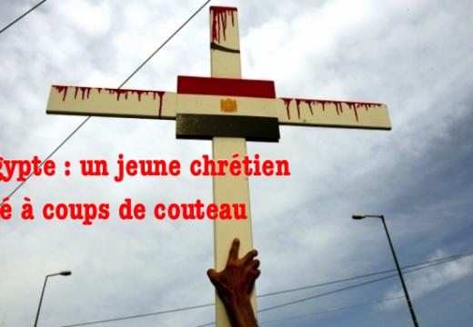 Égypte : un jeune chrétien tué à coups de couteau