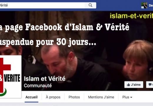 Facebook : la page de l'abbé Guy Pagès suspendue pour 30 jours…