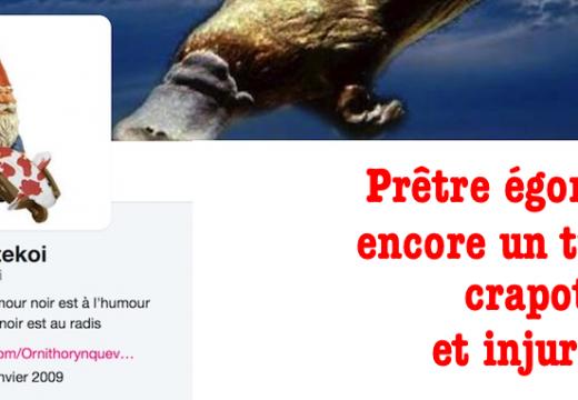 """Prêtre égorgé : encore un """"twitt"""" répugnant"""