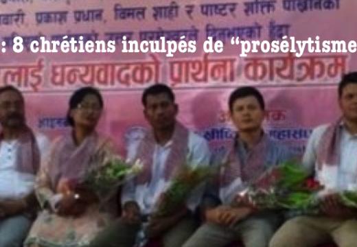 """Népal : 8 chrétiens inculpés pour """"prosélytisme"""" !"""