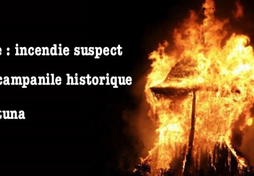 Suède : incendie suspect d'un campanile à Sigtuna