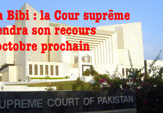 Asia Bibi : ultime recours en octobre devant la Cour suprême