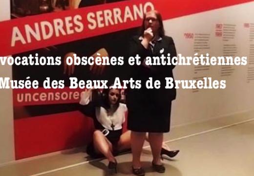 Andres Serrano : provocations antichrétiennes et obscènes à Bruxelles