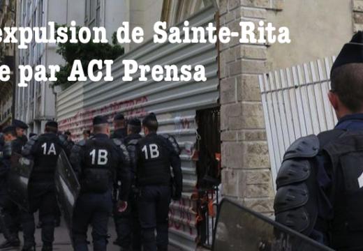 L'affaire Sainte-Rita vue par ACI Prensa