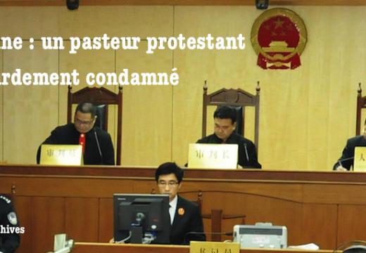 Chine : un autre chrétien condamné à la prison
