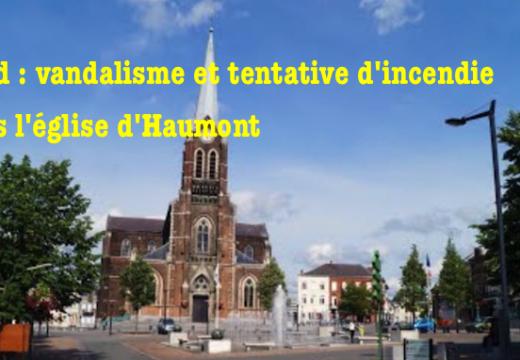 Nord : tentative d'incendie criminel de l'église d'Hautmont